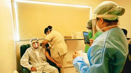 Punjab: First jab done for 40% of 45+ age group, 5% in 18+ category
