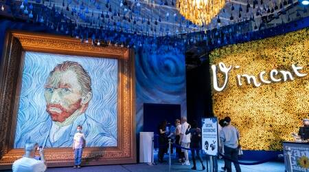 Vincent van Gogh, Vincent van Gogh exhibition, Immersive Van Gogh exhibition, Immersive Van Gogh new york, Van Gogh paintings, Van Gogh famous works