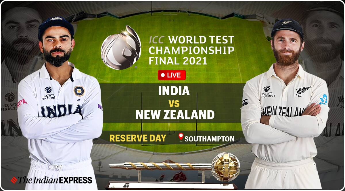 India vs New Zealand WTC Final Reserve Day Live Cricket Score Updates: Ashwin gets breakthrough, Latham out cheaply