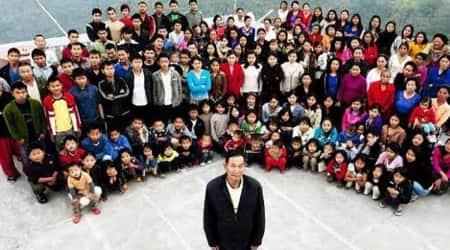 Mizoram, Largest family