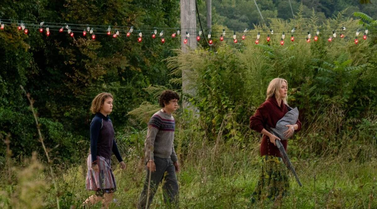 A Quiet Place 2 to become first pandemic release to cross 100 million dollars at the box office | Entertainment News,The Indian Express