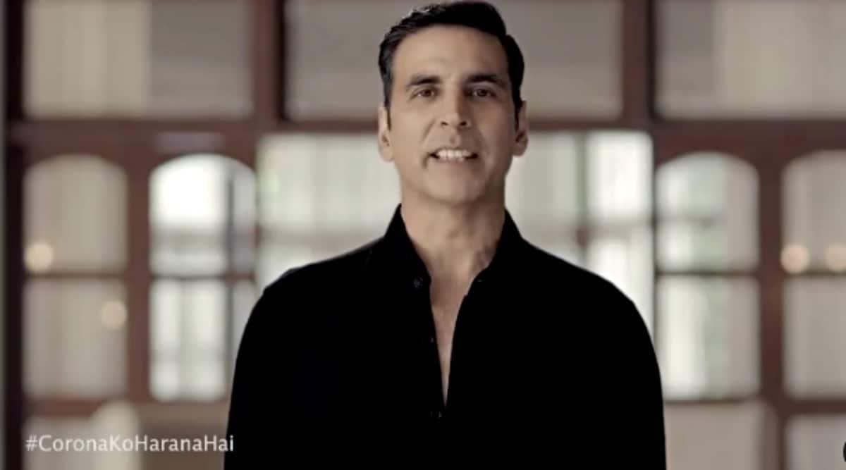 Akshay Kumar shares tips for proper Covid-19 behavior, watch the video