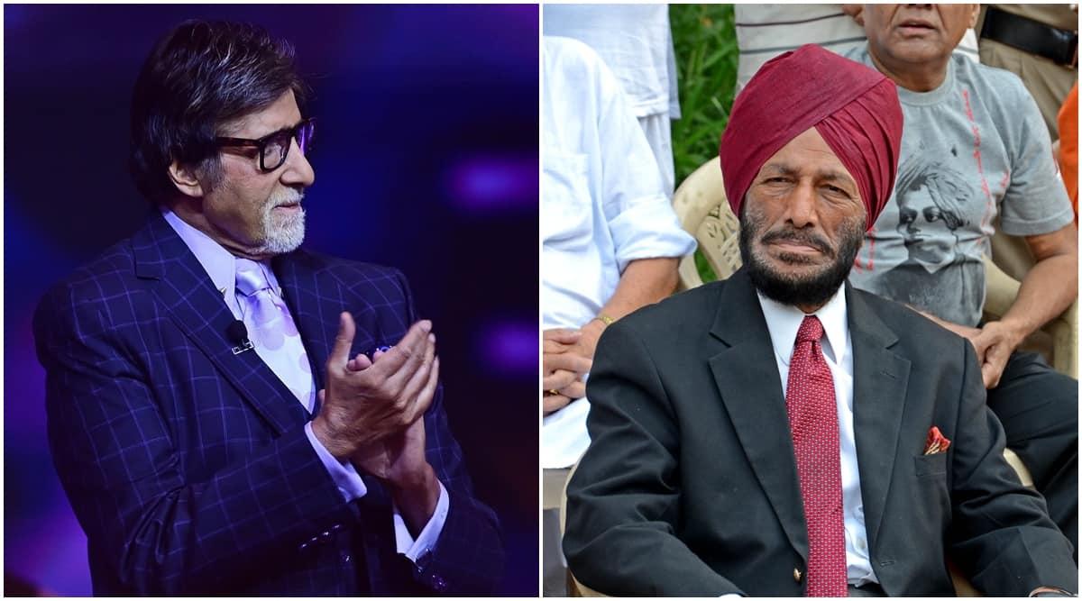 Amitabh Bachchan, milkha singh