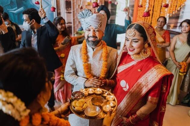 angira, Anand Tiwari wedding