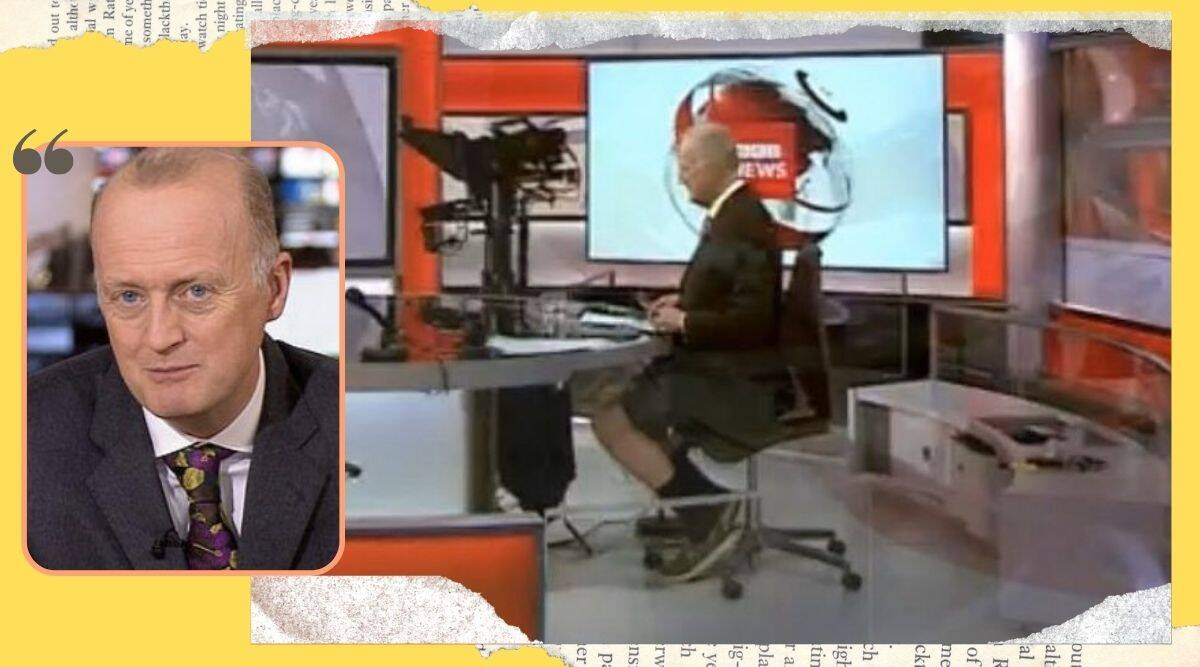 'It wasn't a zoom call': BBC anchor wears shorts under desk, viral video triggers hilarious reactions