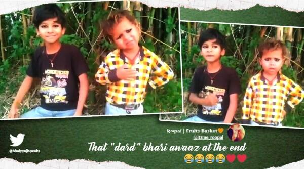 children padhai ka balidaan video, boys spoof video education sacrifice, children say will sacrifice education to fight covid, covid funny solution videos, indian express