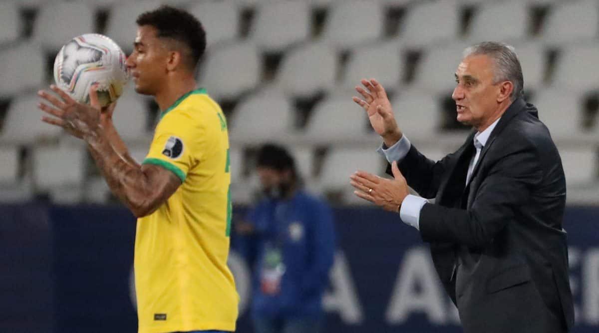 brazil coach tite, brazil coach fined, tite press conference, tite copa america brazil, brazil coach tite covid 19