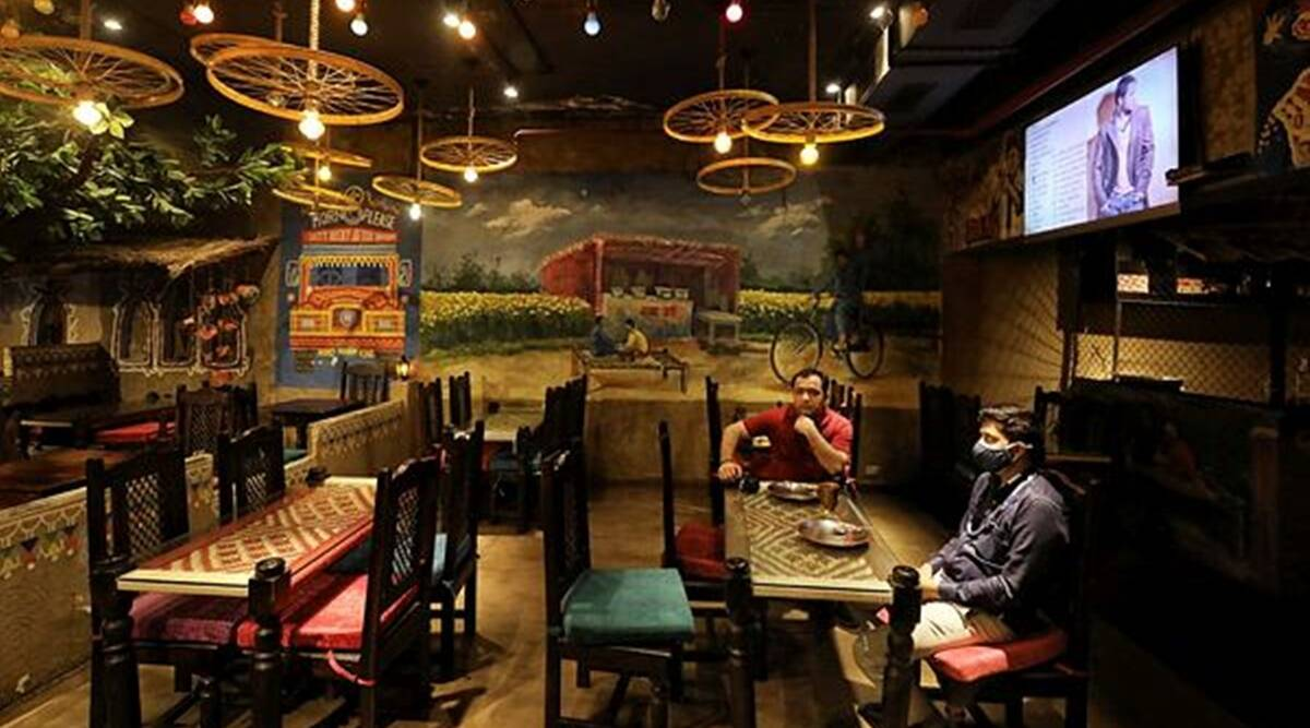 delhi lockdown cafe bars restaurants