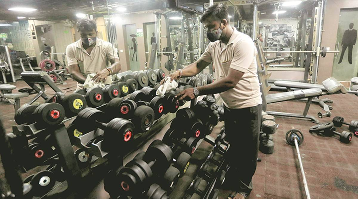 Delhi Gym, delhi unlock news, delhi gyms open, Delhi covid 19 lockdown, delhi lockdown restrictions, Disaster Management Authority's order, Delhi News, Indian Express, gym news, Covid Unlock
