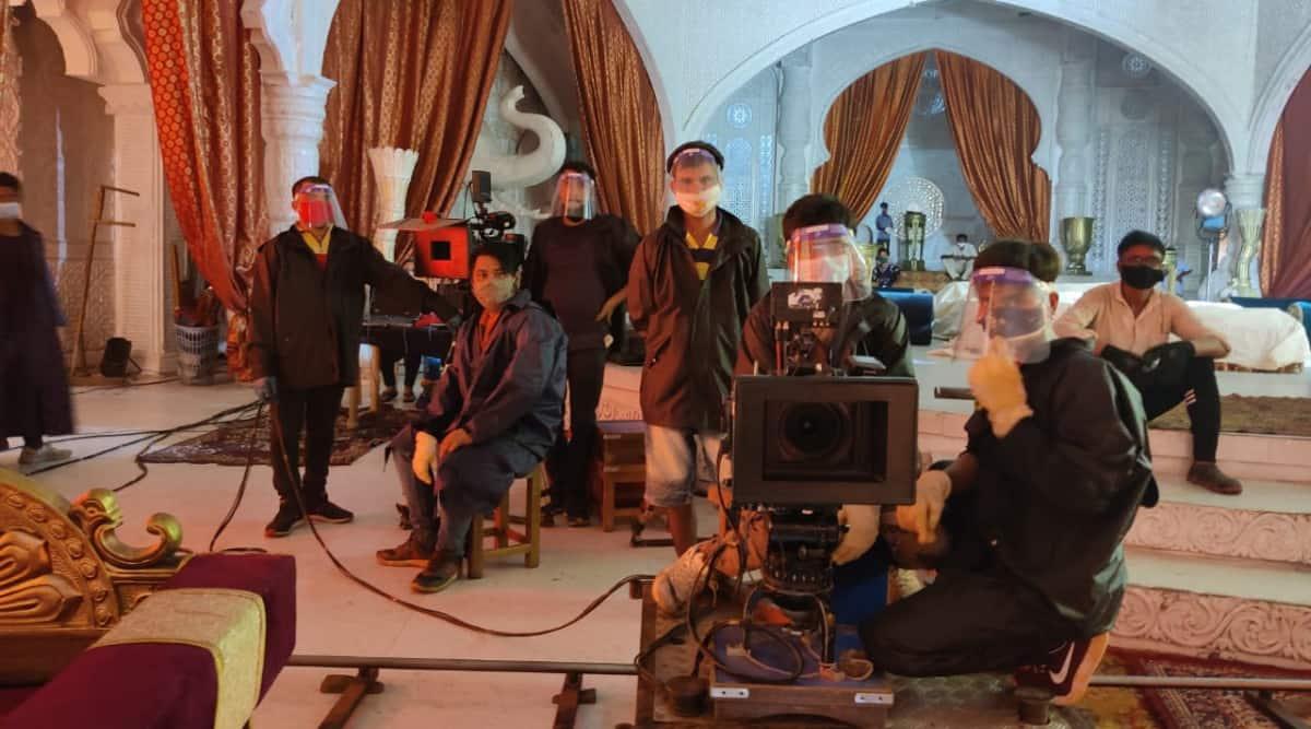 covid19 shooting film tv
