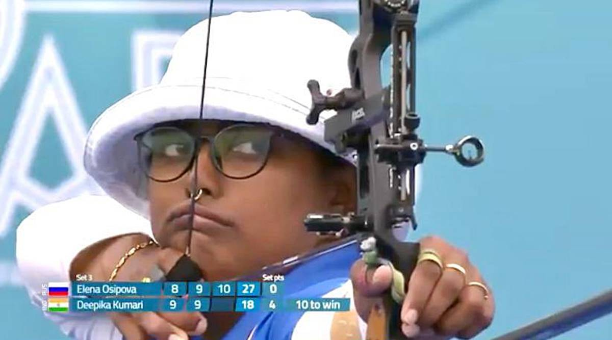 deepika kumari, archery