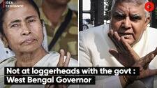 Not at loggerheads with the West Bengal government: Jagdeep Dhankhar