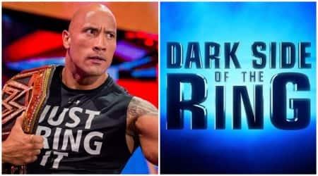dwayne the rock johnson, dark side of the ring