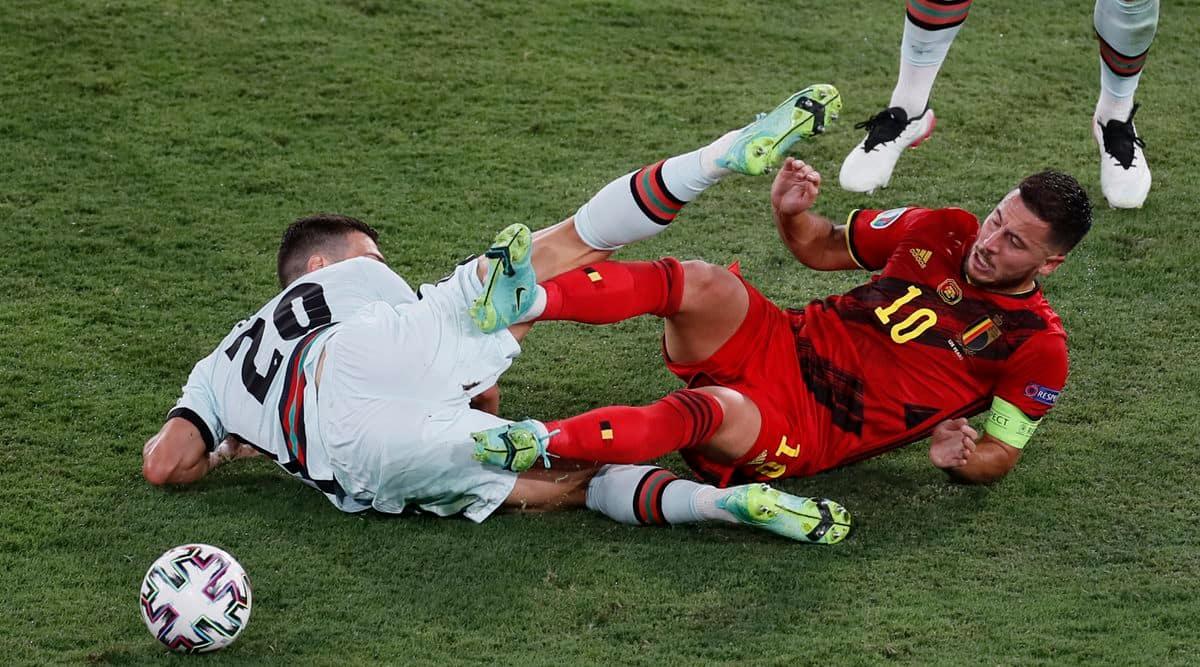 Kevin De Bruyne, Eden Hazard, kevin de bruyne injury, eden hazard injury, belgium euro 2020 injuries, belgium coach robert martinez, eden hazard replacement, kevin de bruyne replacement