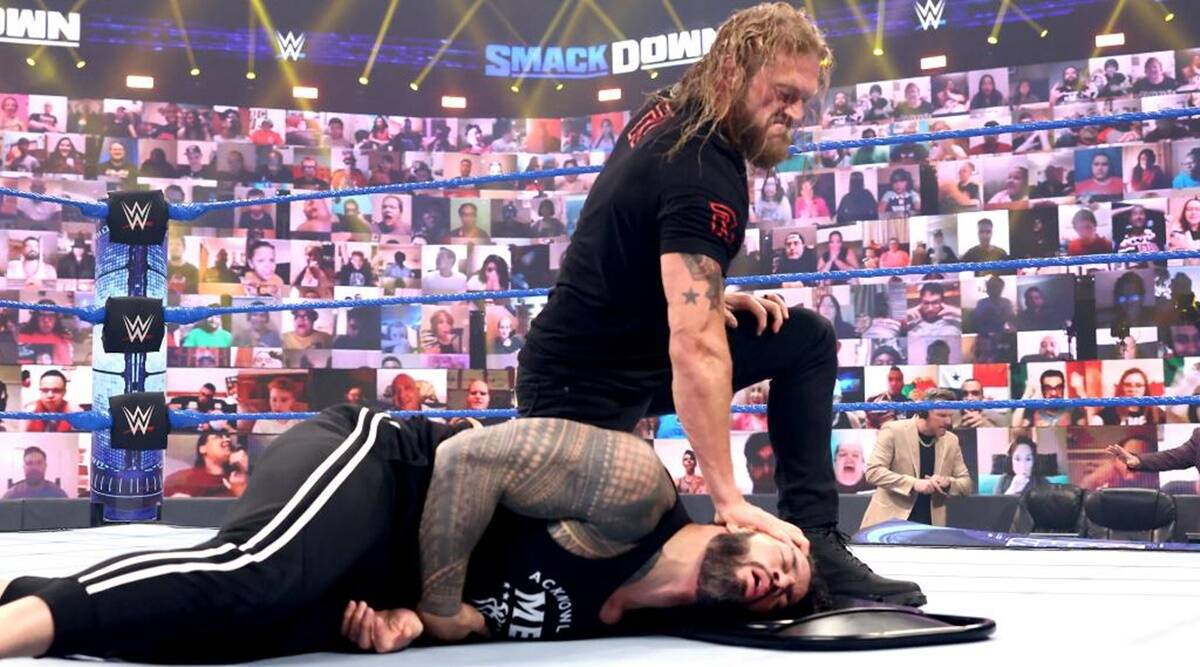 Edge & Roman Reigns Announced For Tag Team Match On WWE Smackdown 32
