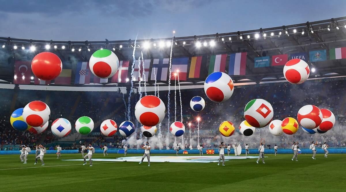 UEFA Euro 2020 starts with fireworks and balloons after year-long delay