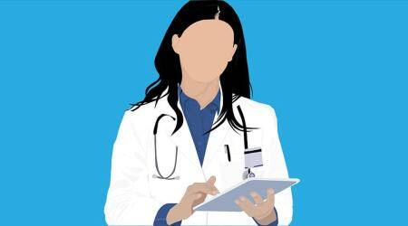 Odisha health-care workers, selfless service of health care workers, covid warriors odisha, healthcare workers coming hair of patients, covid workers Odisha, indianexpress.com