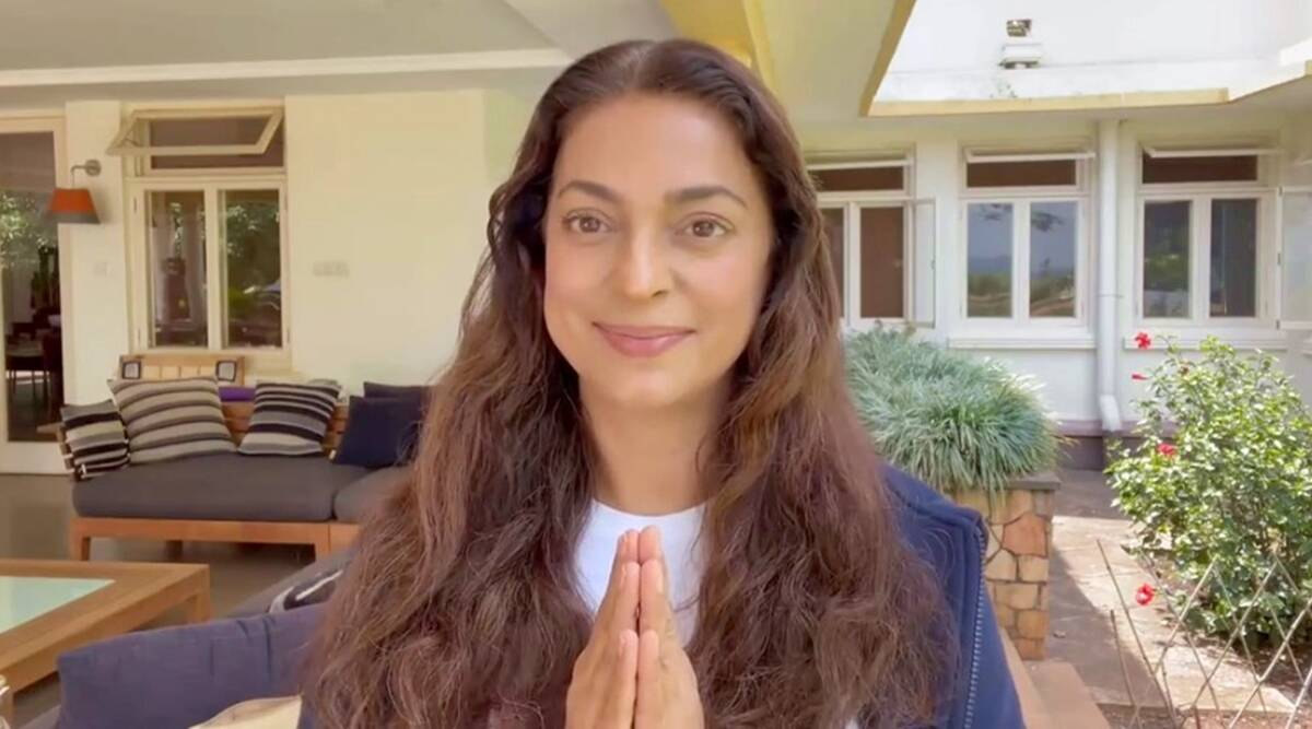 """Juhi Chawla says he is not against 5G: """"Whether 5G is secure is all we are asking for"""""""