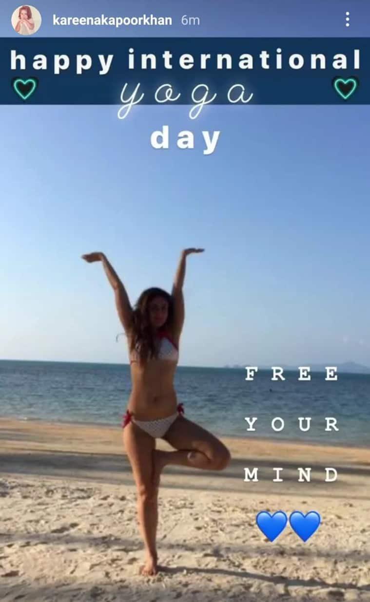 kareena yoga