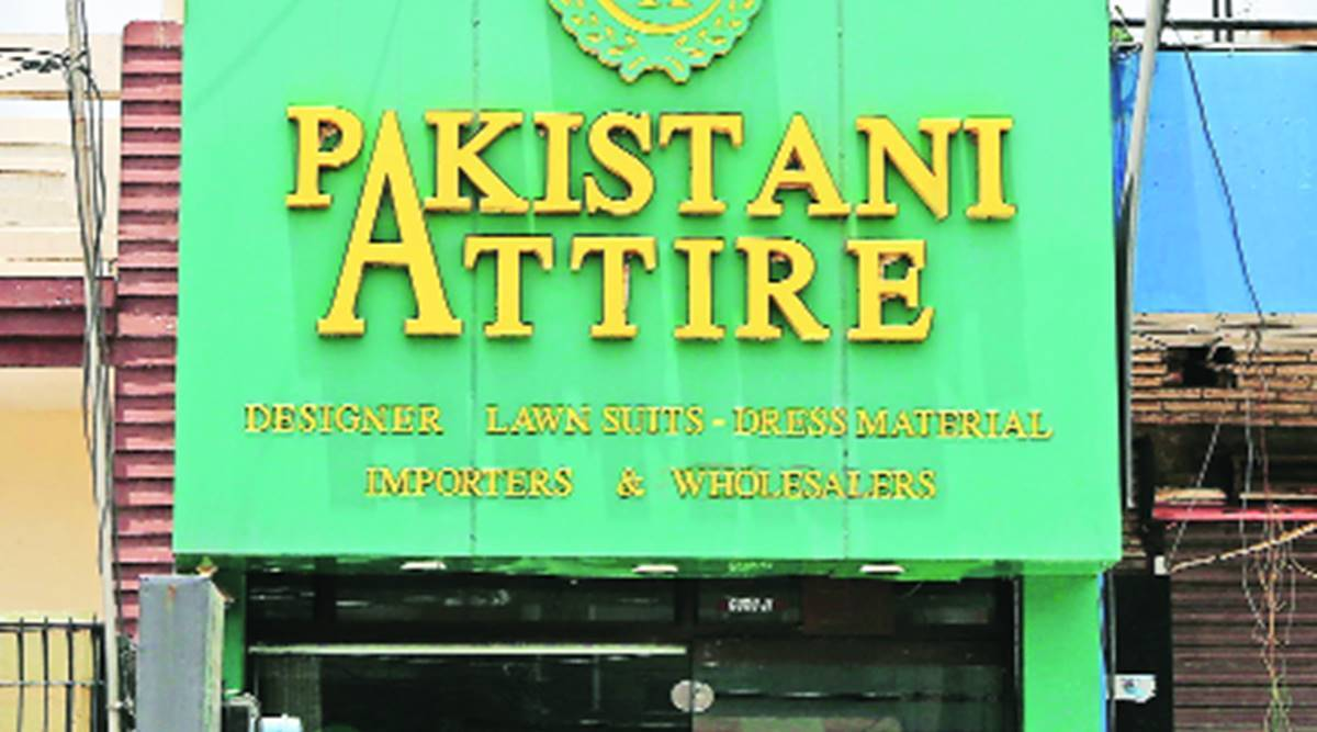 Clothing store named after Pak wins hearts across the border