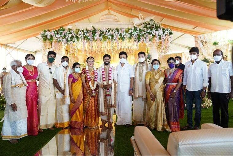 shankar daughter wedding, mk staling