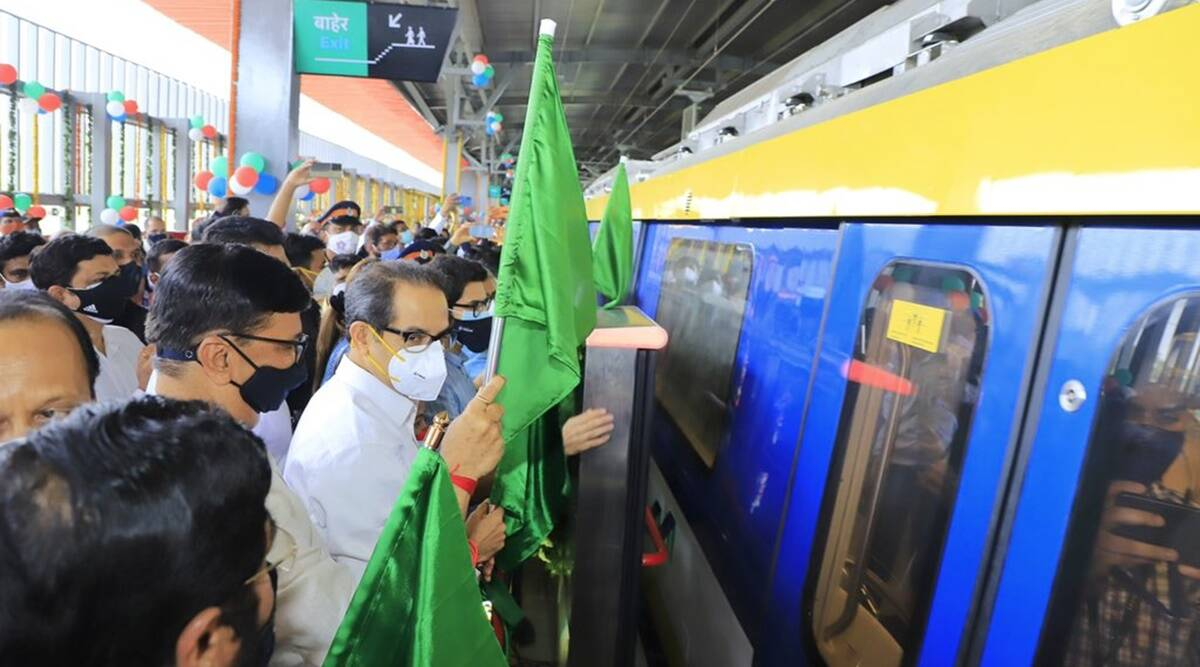 Mumbai: Trial run for Metro Line 2A and 7 flagged off