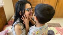 'Outside, there's coronavirus': A Covid-positive mom on being cared for by her five-year-old