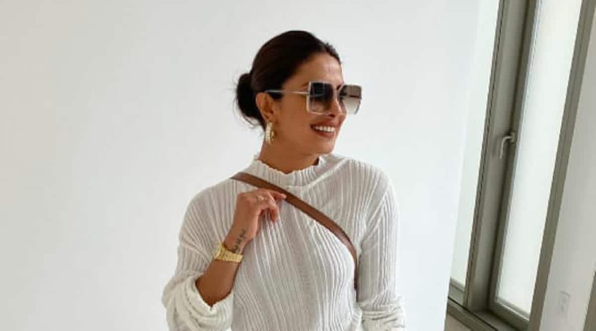 Priyanka Chopra in New York City,Bollywood fashion and style, Priyanka Chopra style and fashion, Priyanka Chopra Instagram, bollywood celebrities, trends in Bollywood, Styles in Bollywood, indianexpress.com