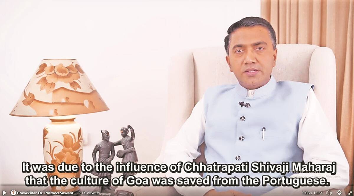 Goa govt releases film on Shivaji; to restore his forts, temples