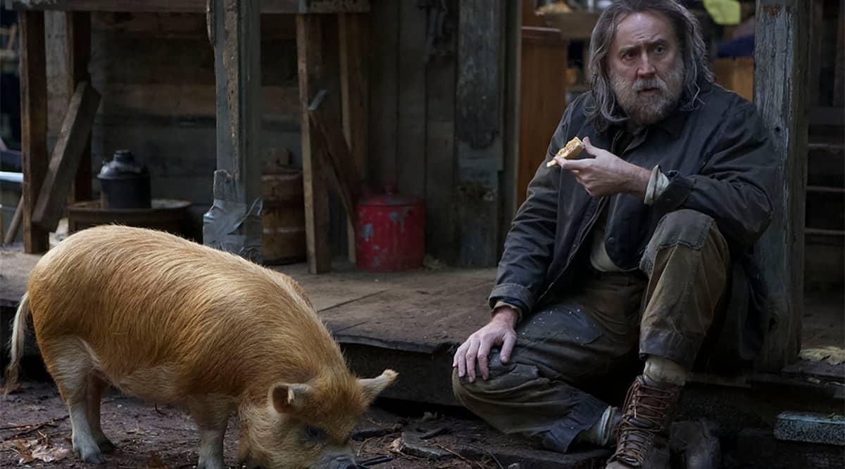 nicolas cage Pig, pig trailer, pig movie