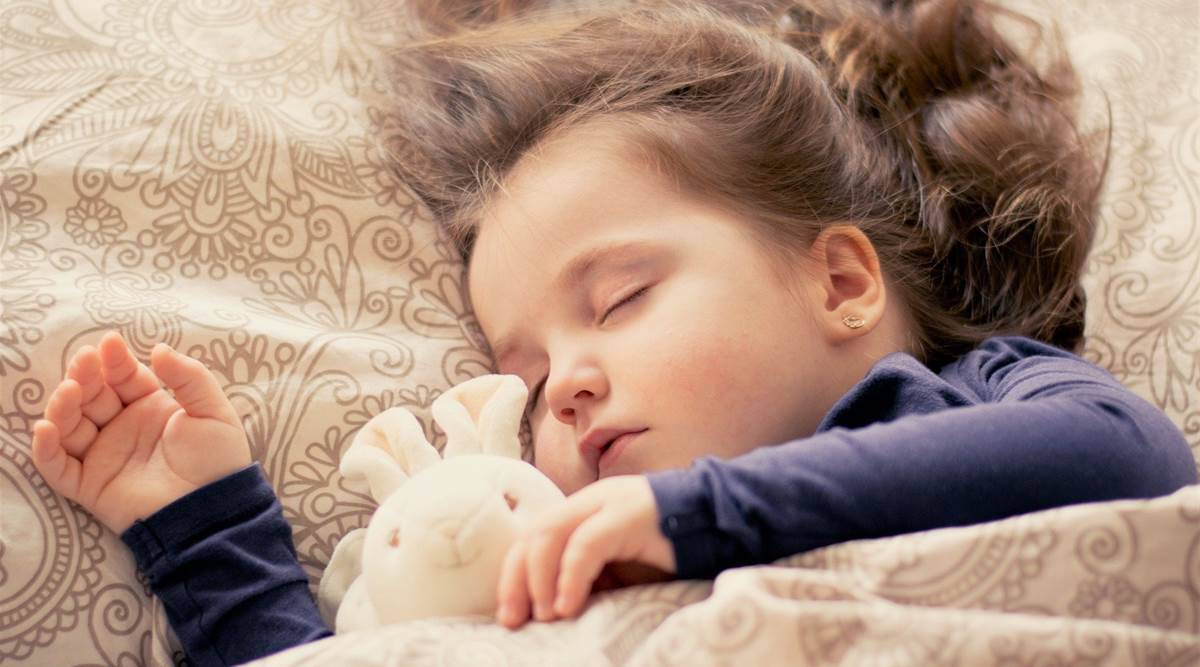 sleep issues and children, kids and sleeping issues in the pandemic, how to improve sleep cycle for kids, sleeping, pandemic, children, parenting, indian express news