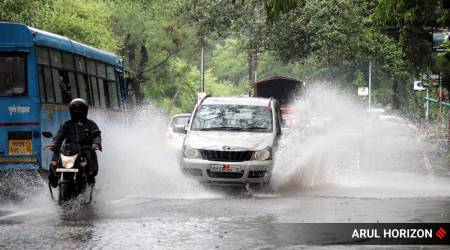 Pune records heavy overnight rains, more showers on weekend