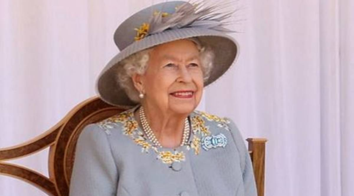 Queen Elizabeth II wears late mother's old jewellery at Trooping the Colour