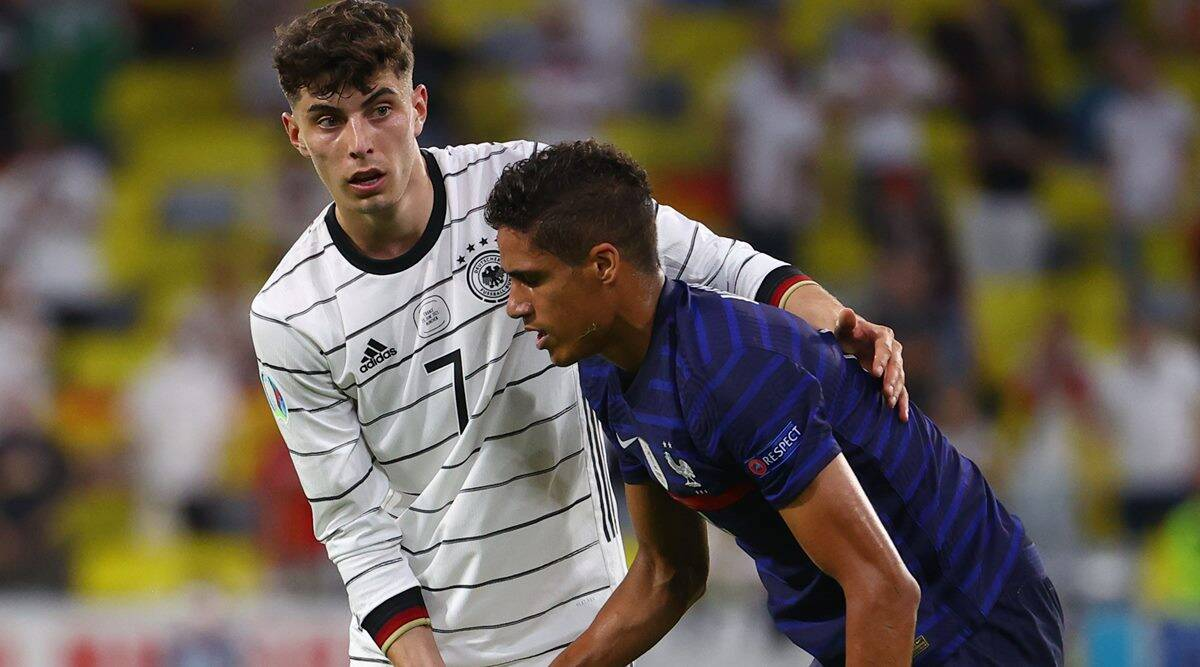 Raphael Varane, Raphael Varane racism, Raphael Varane taking knee, Raphael Varane euro 2020, racism in football