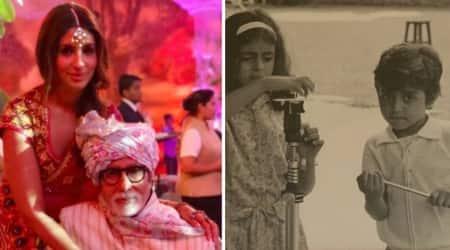 Shweta Bachchan shared a video on Instagram