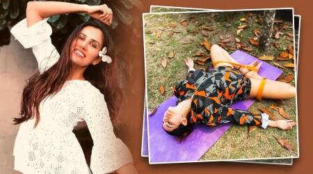 breathing patterns, deep belly breathing, sonnalli seygall, indianexpress.com, indianexpress, breathing patterns, fitness, anxiety breathing, celeb fitness, fitness news,