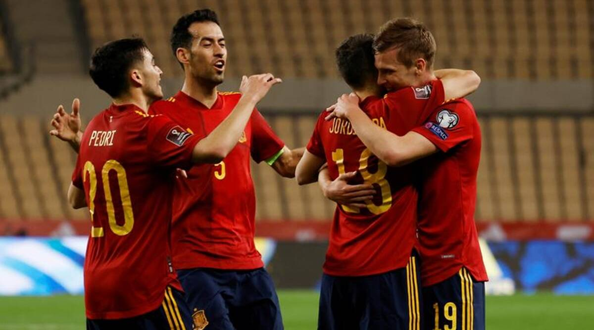 UEFA Euro 2020: Spain again has to weather a storm before a major  tournament | Sports News,The Indian Express