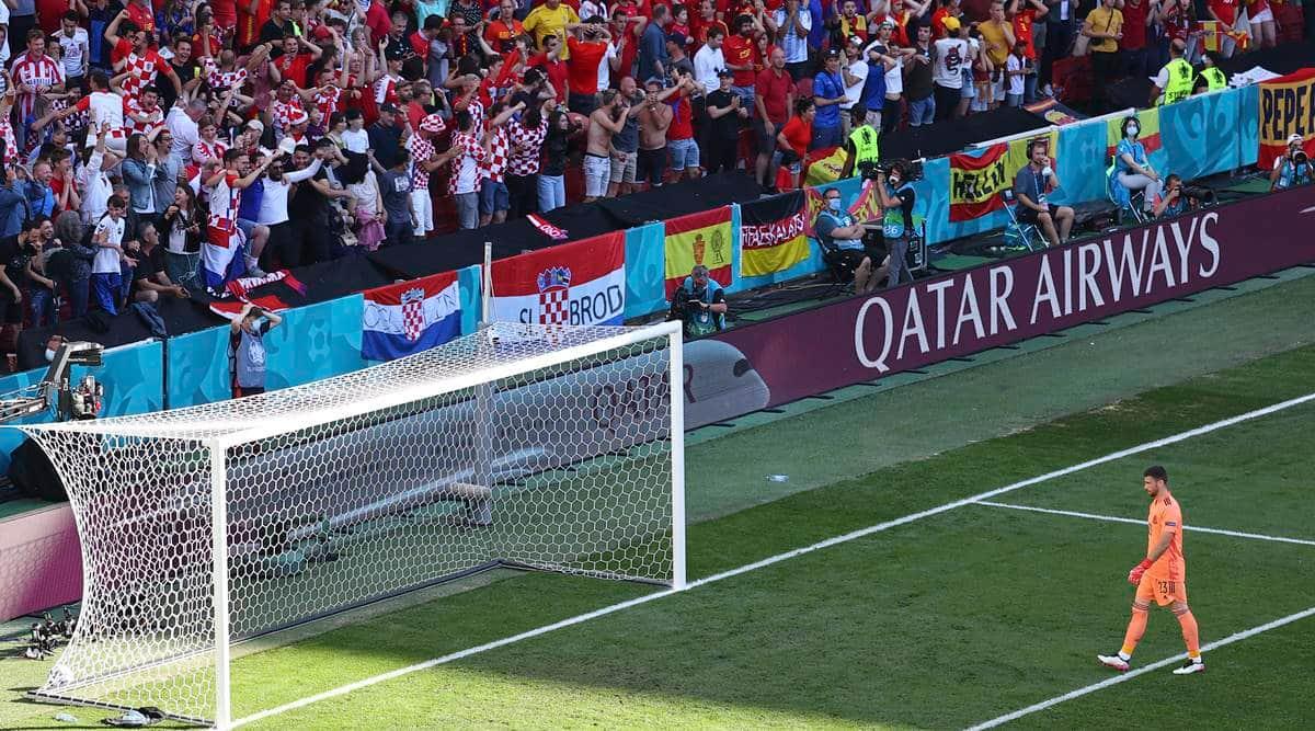 Spain,own goal, Unai Simon