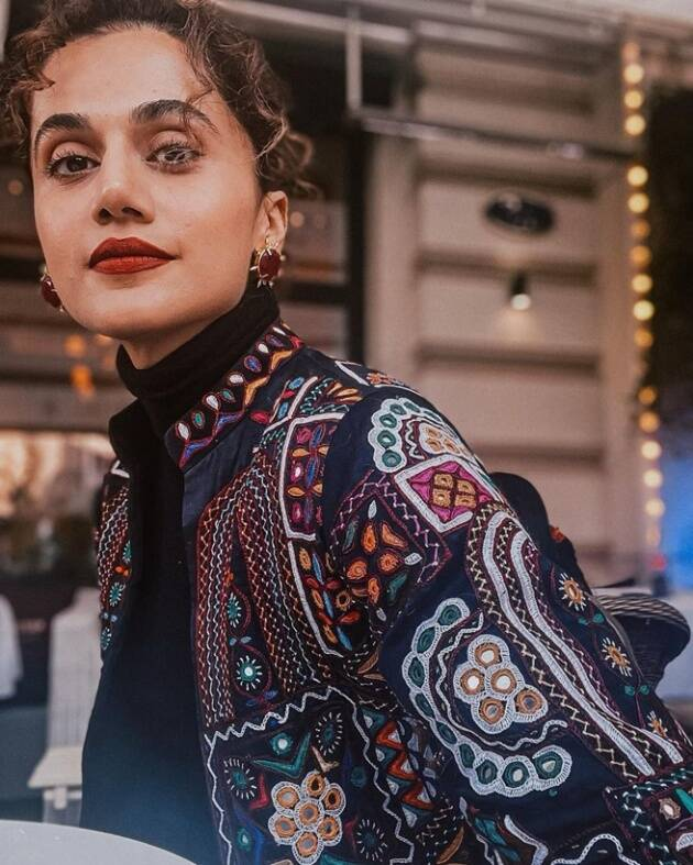 taapsee glam