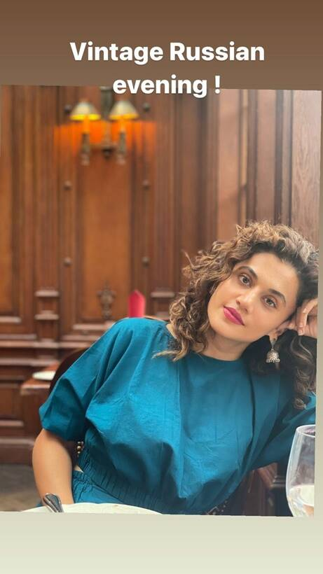 taapsee vacation pic