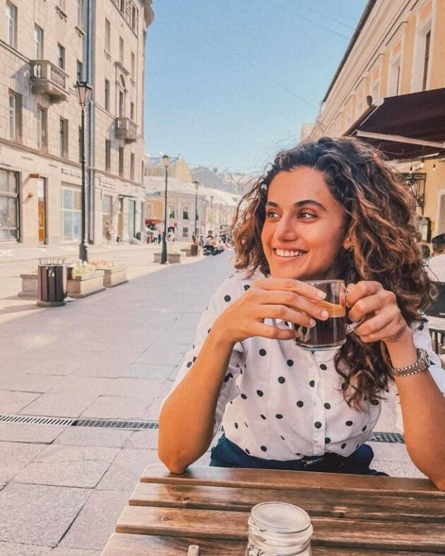 taapsee vacation