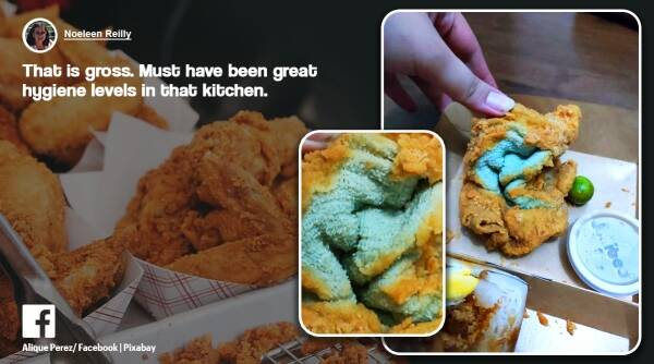 Philippines fried towel instead of chicken, fast food company serves fried towel, Jollibee philippines, odd news, weird news, viral news, indian express,