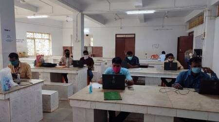 Tripura covid news, tripura covid updates, tripura teachers covid volunteers, tripura covid war room, tripura covid helpine, indian express
