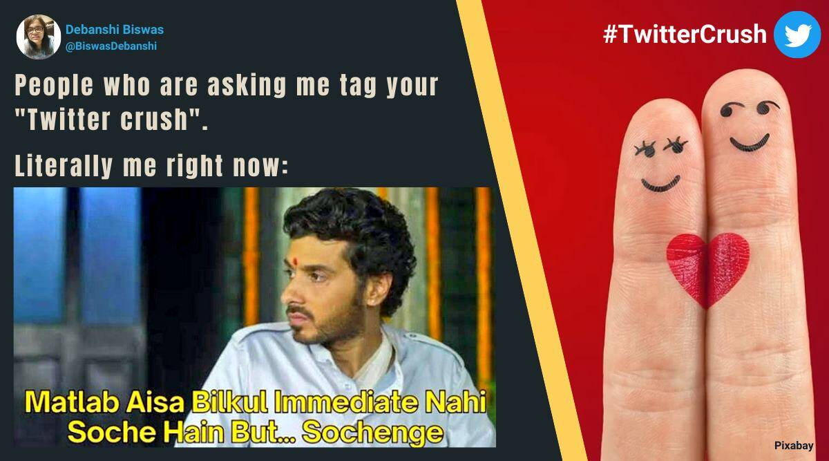 As Twittercrush Trends Check Out Some Funny Memes Trending News The Indian Express