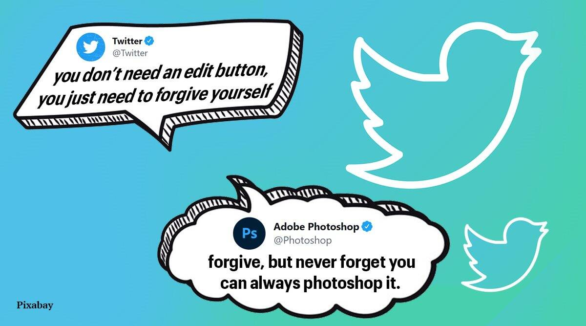 twitter edit button, twitter edit feature, twitter, twitter hilarious tweets, twitter edit button memes, viral news, indian express