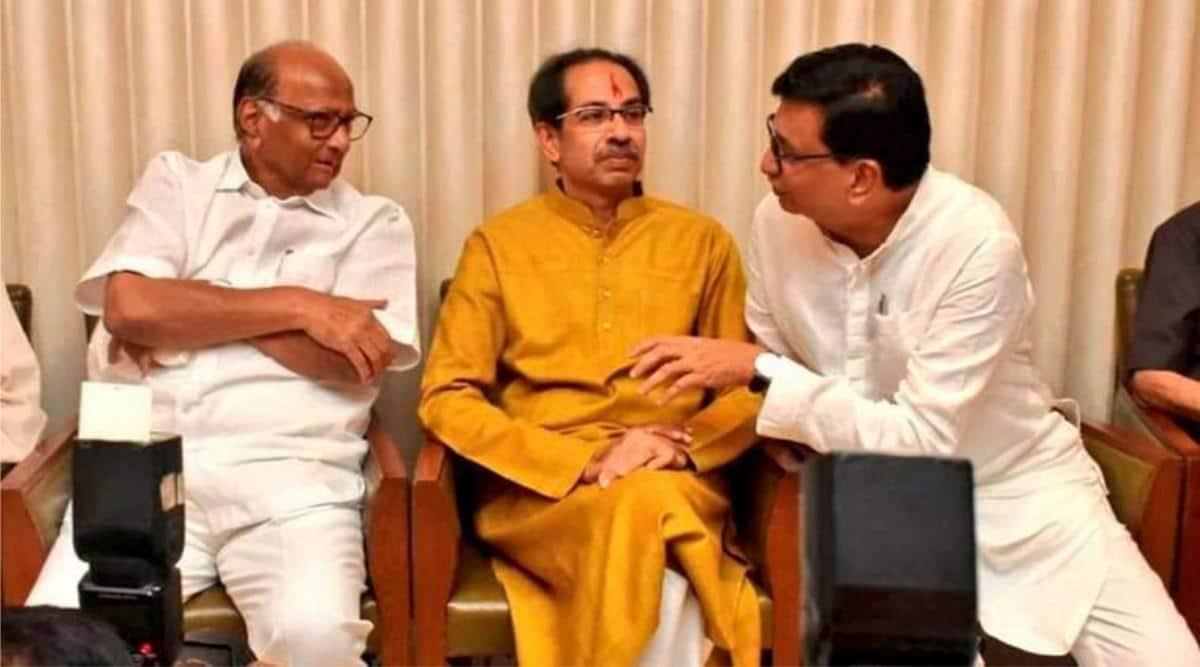Uddhav Thackeray, Sharad Pawar NCP Shiv Sena alliance