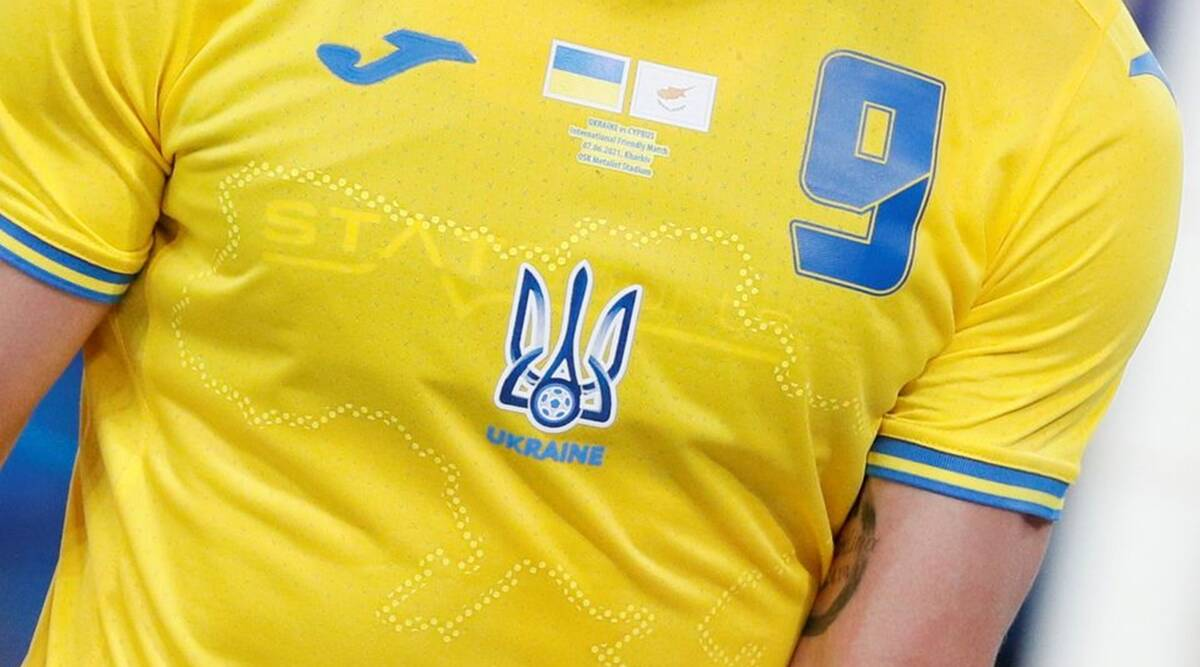 UEFA order Ukraine to remove 'political' slogan from kit ahead of Euro 2020
