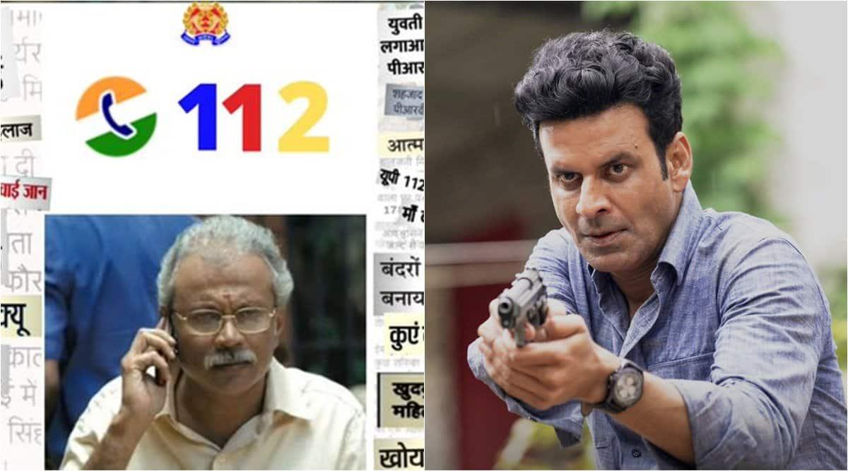 family man 2, Chellam Sir memes, up police Chellam Sir meme, family man 2 memes, police funny memes, viral news, indian express,