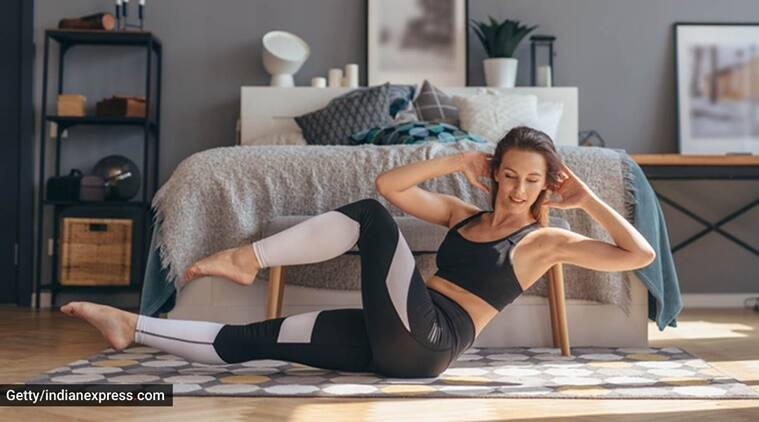 work from home, how to have the best chair when working from home, work from home fitness, tips for back pain, lower back strength exercises, work from home exercises, indianexpress, indianexpress.com