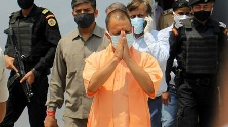 Senior BJP leader in UP for 'feedback', meets Yogi ministers